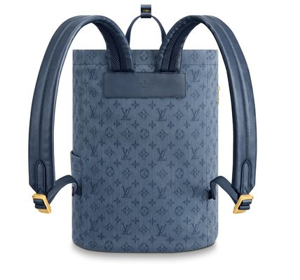 Louis Vuitton バックパック・リュック 【Louis Vuitton】20SSNEW! Cute デニムバックパック/モノグラム(3)