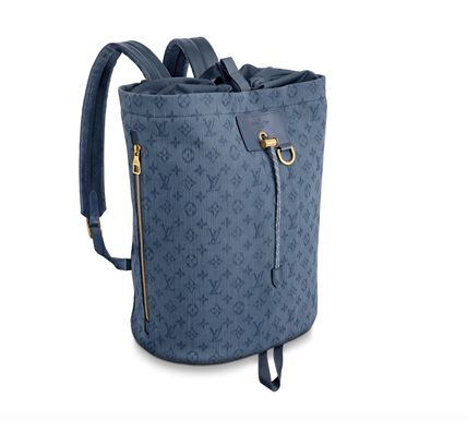 Louis Vuitton バックパック・リュック 【Louis Vuitton】20SSNEW! Cute デニムバックパック/モノグラム(5)