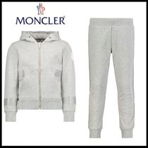 6-10A★MONCLER フード付きロゴセットアップ【関税送料込】
