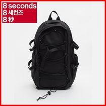 8 SECONDS(エイトセカンズ) バックパック・リュック ★8 SECONDS★Black Casual Backpack (2901D2WYE5)