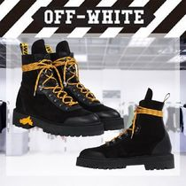 【19-20AW NEW】OFF-WHITE / HIKING BOOTS/ ブラック