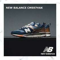 【new!お早めに!】NEW BALANCE CM997HAK NAVY/BROWN/WHITE