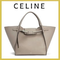 CELINE★medium big bag taupe シボ 新ロゴ(関税込EMS謝恩品)