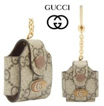 【GUCCI】オフィディア AIRPODS ケース & キーリング