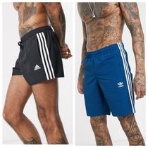 adidas 3 stripe swim shorts /2色