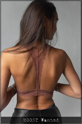 MOOST Wanted ブラジャー 【関税送料込】MOOSTWanted ブラレット Lou Bralette Rust Red(2)
