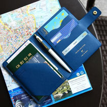 ◆PLEPIC◆ Travel Pass Cover パスポートケース 4色