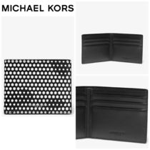 【Michael Kors】☆人気商品☆ Kent Dot Print Billfold Wallet