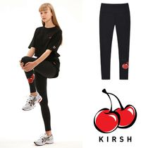 ★KIRSH★ CHERRY LEGGINGS JS /BLACK