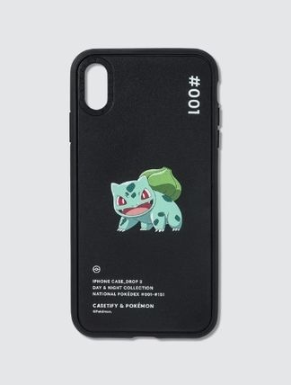 Casetify スマホケース・テックアクセサリー Casetify Bulbasaur 001 Pokedex Night Iphone XS Max Case