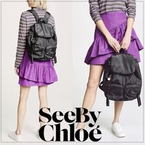 ★手元在庫あり【SEE BY CHLOE】Joyrider Large Nylonリュック