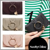 ★手元在庫あり【SEE BY CHLOE】Hana Medium Trifold wallet財布