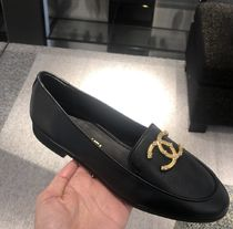 2020 S/S  CHANEL 最新作★★Leather Loafers