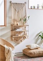 Urban Outfitters ☆ マクラメ編み Wall Shelf