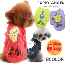 PUPPY ANGEL Monsters Short(40%) Sleeve T-shirt BBN182 追跡付