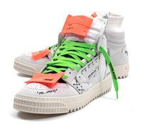 【関税負担】 OFF WHITE HIGH TOP SNEAKERS