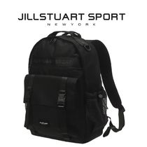 日本未入荷★JILLSTUART SPORT★FRONT POCKET BACKPACK BLACK