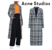 [関税・送料込] Acne Studios☆Checked tweed coat