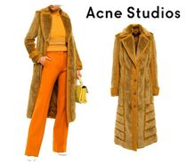 関税・送料込Acne Studios☆Faux fur and jute-blend bouclecoat