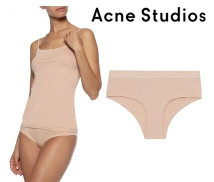 Acne ショーツ Acne Studios☆Denise mid-rise stretch cotton-jersey briefs