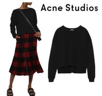 [関税・送料込] Acne Studios☆Perty Compact stretch-knit top