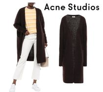 [関税・送料込] Acne Studios☆Brushed-knitted cardigan