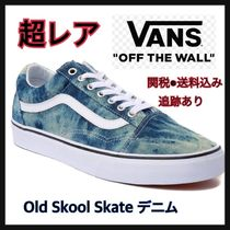 [超レア] VANS★Old Skool Skate Shoe デニム柄☆