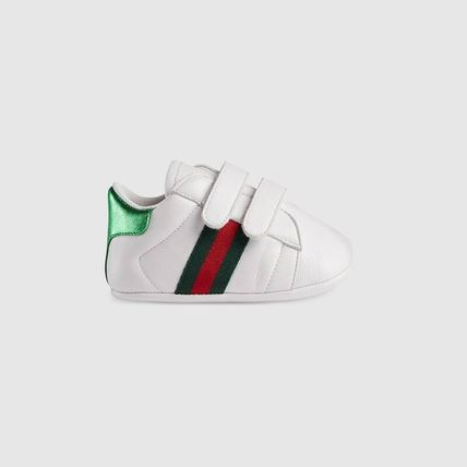 GUCCI ベビースニーカー ★GUCCI★ Baby Ace leather sneaker ベビー エーススニーカー(2)