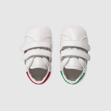 GUCCI ベビースニーカー ★GUCCI★ Baby Ace leather sneaker ベビー エーススニーカー(3)