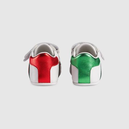 GUCCI ベビースニーカー ★GUCCI★ Baby Ace leather sneaker ベビー エーススニーカー(4)