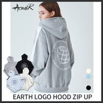 ACOVER(オコボ) パーカー・フーディ ◆ACOVER◆ 20SS EARTH LOGO HOOD ZIP UP (全4色) 最新作 人気
