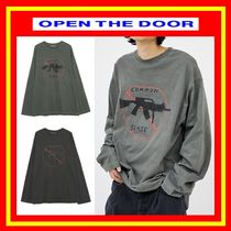 [OPEN THE DOOR]  common damage dyeing T ◆全2色◆ 追跡付