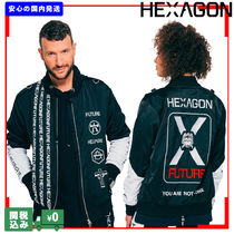 HEXAGON YOU ARE NOT ALONE ナイロン ジャケット 関税送料込