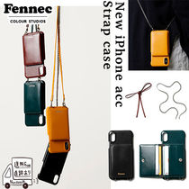 【Fennec】LEATHER STRAP POCKET CASE iPhoneケース