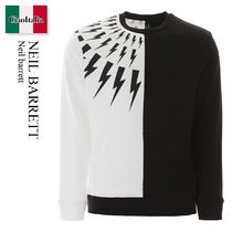 Neil barrett Thunder Bolt Print Sweater