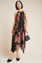 Anthropologieオリジナル! Emeline Pleated Midi Dress