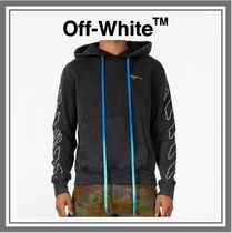【SALE】送料込み◆OFF-WHITE ABSTRACT ARROWS HOODY