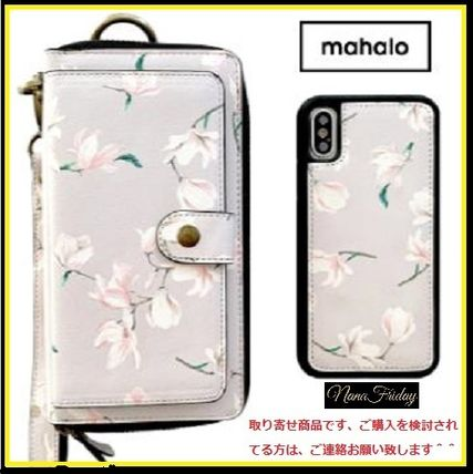大人気!mahalo Ultimate Wristlet Phone Case in Baby Magnolia