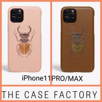 The Case Factory★iPhone 11 PRO/MAX BEETLE 高級カーフレザー