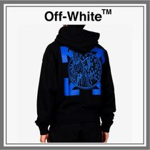 【SALE】送料込み◆OFF-WHITE WIZARD AND CAT OVERSIZE HOODY