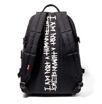I AM NOT A HUMAN BEING(ヒューマンビーイング) バックパック・リュック I AM NOT A HUMAN BEING コラボ THE EARTH★ MAMMOTH  backbag