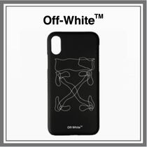 【SALE】送料込み◆OFF-WHITE ABSTRACT ARROWS iPhone XS MAX