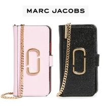 【Marc Jacobs 】手帳型 チェーン付き iPhone ケース