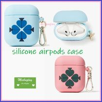 【kate spade】持ち運びに便利♪ silicone airpods case ★