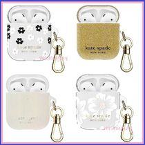 【kate spade】持ち運びに便利♪充電量確認可能♪airpods case★