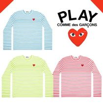 《2020SS》COMME des GARCONS Play ボーダーロンT メンズ