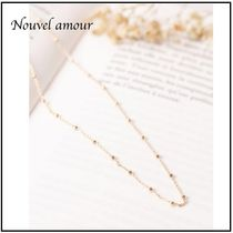 【nouvel amour】日本未入荷  ADORABLE チェーンネックレス