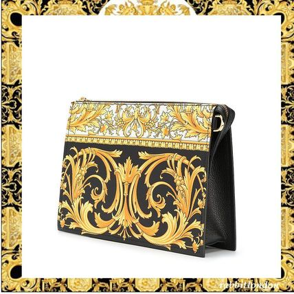 VERSACE★バロックプリント クラッチバッグ