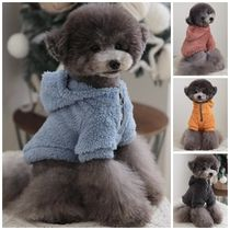 【TOTO&ROY】Teddy Fleeced Hood★4color★S〜XL