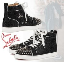 Christian Louboutin★ ハイトップ ☆ Lou Spikes スニーカー ★